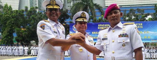 Sertijab, Laksamana TNI Muchammad Richad Resmi Jabat Danlantamal III Jakarta
