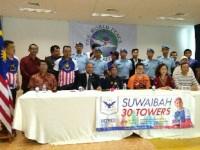 Pelari Top Malaysia Taklukan Gedung Tertinggi di Indonesia
