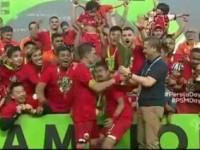 Kalahkan Mitra Kukar, Persija Raih Juara Liga 1 2018