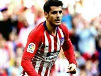 Gol Morata Tumbangkan Villareal 2-0