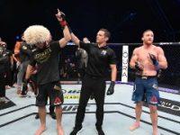 Khabib Nurmagomedov Taklukkan Justin Gaethje di UFC 254