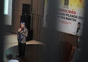 Presiden PKS Perintahkan Kader Cegah Politik Uang di Pilkada Cilegon