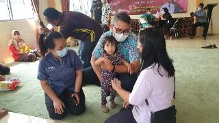 THE 101 Bogor Suryakancana Dukung Program Pemerintah dengan Memberikan 101 Boks Susu untuk Balita Kurang Gizi di Kota Bogor