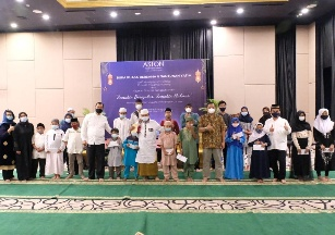 ASTON Priority Simatupang Hotel Berbagi Berkah Ramadhan Bersama Anak Yatim