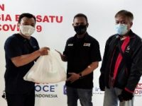 YPJI Salurkan 100 Paket Sembako kepada Jurnalis