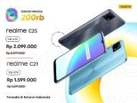 realme Umumkan Harga Baru untuk Smartphone Entry-Level  realme C21 dan realme C25