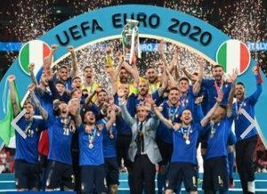 Kandaskan Inggris Lewat Adu Penalti, Italia Juara Euro 2020