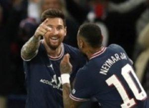 Messi Cetak Gol, PSG Bungkam Manchester City 2-0
