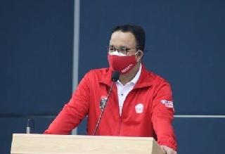 Gubernur DKI Menyapa Atlet, Optimis Juara Umum